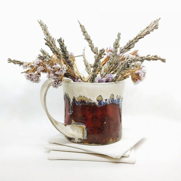 Cana decorativa din ceramica