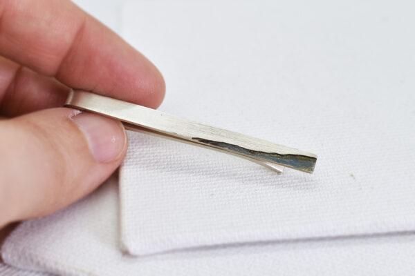 Ac de cravata din argint
