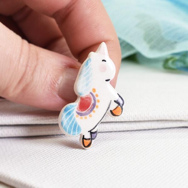 "Martisor – brosa ""Unicorn"""