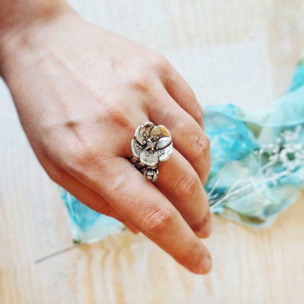 """Inel """"Mix & Match – Flower Extravaganza"""""""