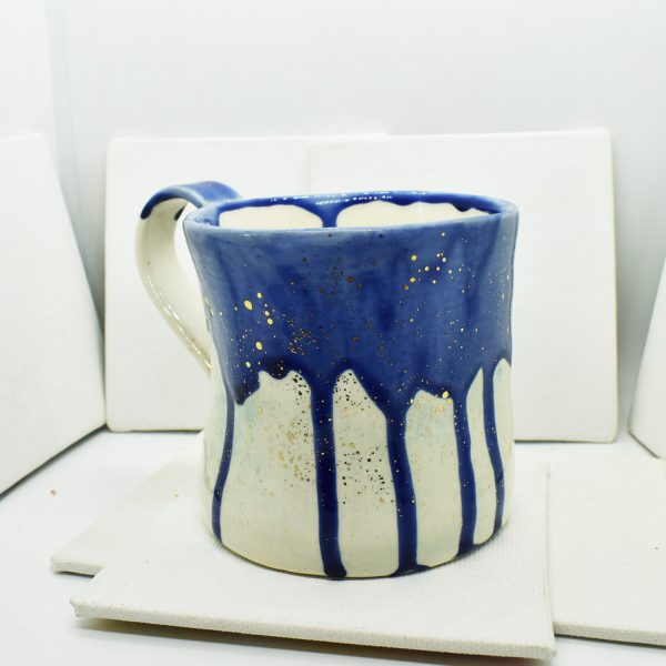"Cana din ceramica ""Starry night"""