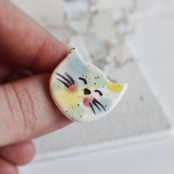 "Martisor – brosa ""Portret de pisica: Zuri"""